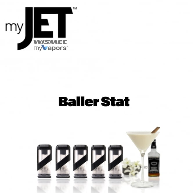 MyJet Pods | Switch Vapor - Baller Stat (5-pack)