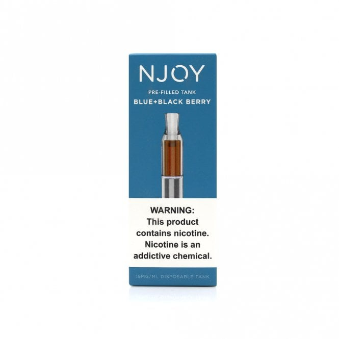 NJOY Convenience Vaping Pre-Filled Tank (Blue and Black Berry)