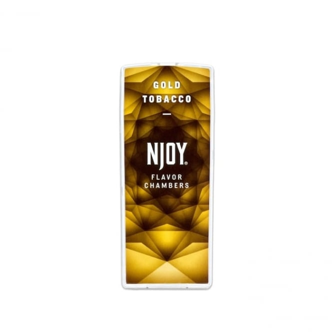 NJOY Gold Tobacco Flavor Chambers (2-Pack)