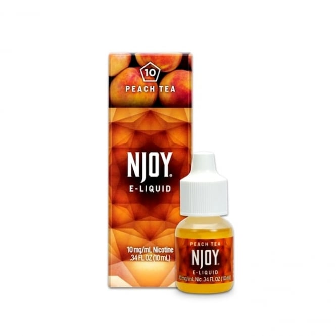 NJOY Peach Tea Flavor 10ml E-Liquid