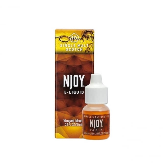 NJOY Single Malt Scotch Flavor 10ml E-Liquid