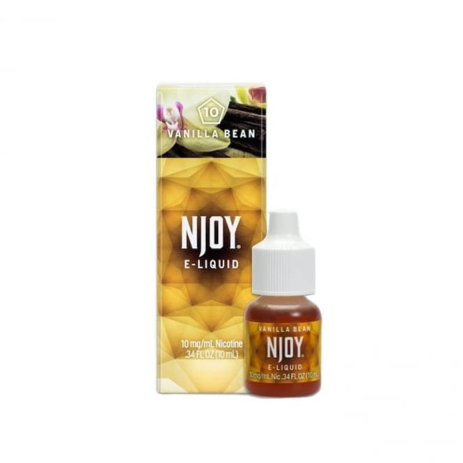 NJOY Vanilla Bean Flavor 10ml E-Liquid