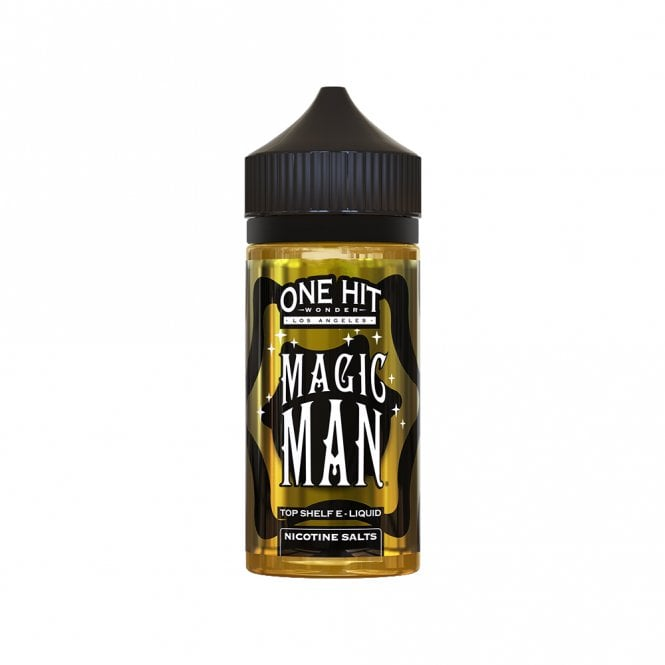 One Hit Wonder Magic Man 100ml Salt Nic Juice Sweet fruit medley 80%VG