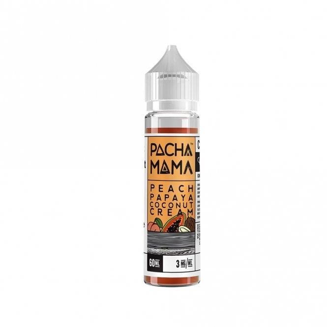 Pachamama Peach Papaya Coconut Cream 60ml Vape Juice