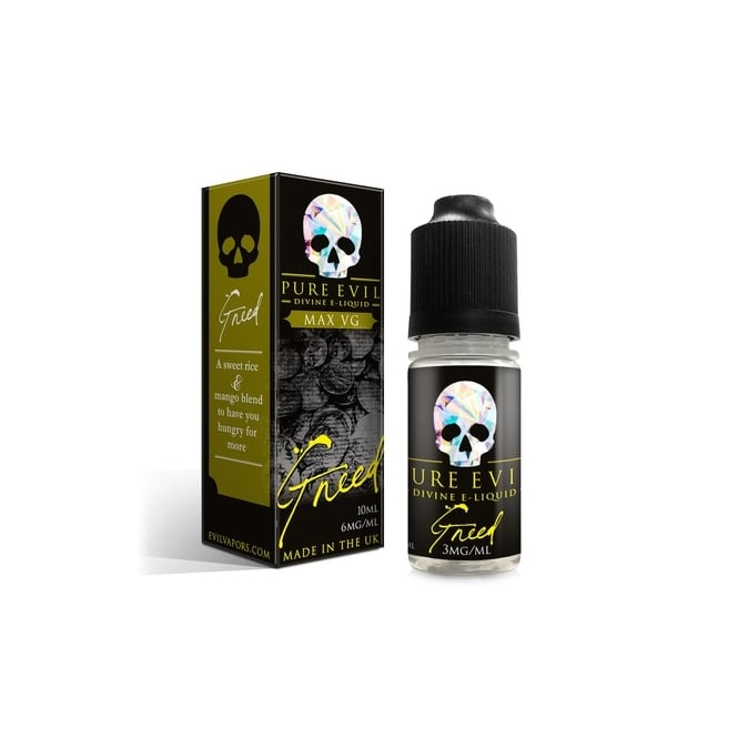 Pure Evil Greed 10ml Sub-Ohm E-Juice