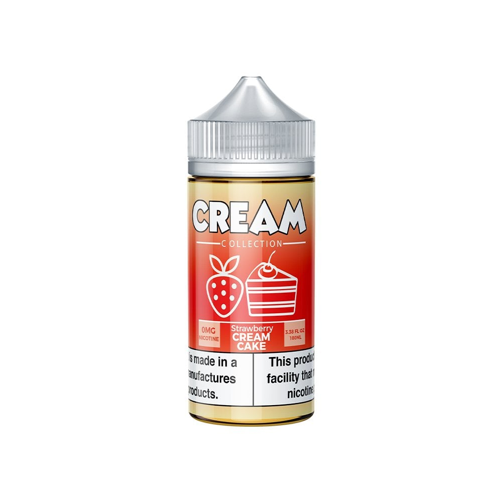 Strawberry Cream Cake 100ml Vape Juice