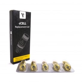 CCELL Ceramic SS316L Coil Pack (5)
