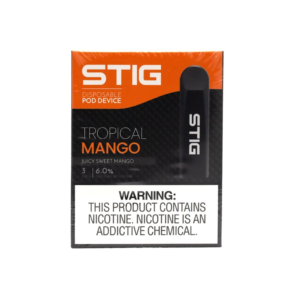 STIG Disposable Pod System | Tropical Mango